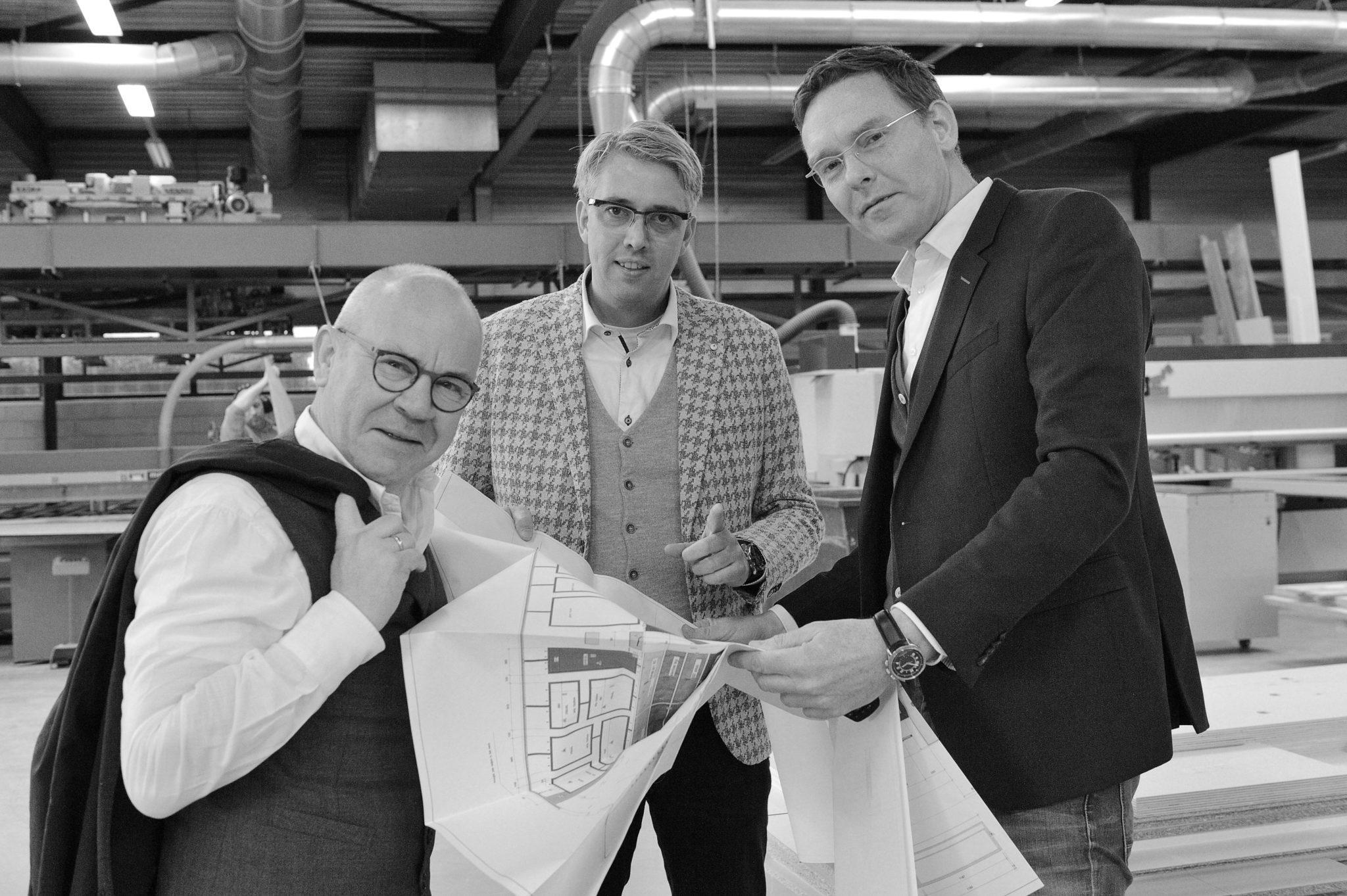 Rick Blankenstijn Bert Blankenstijn Nico Schreuder WSB Interieurbouw
