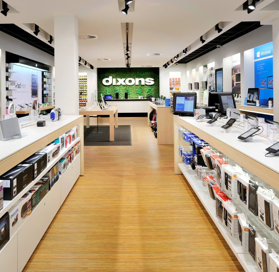 Retail design by WSB >>Dixons