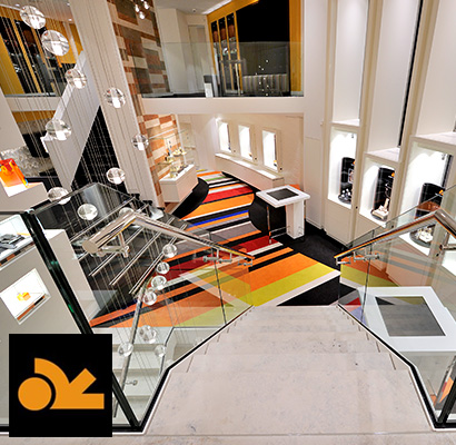 WSB Retail design >> Juwelier Van Willegen