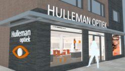 Verbouwing optiekzaak Hulleman Optiek