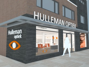 Verbouwing optiekzaak Hulleman Optiek