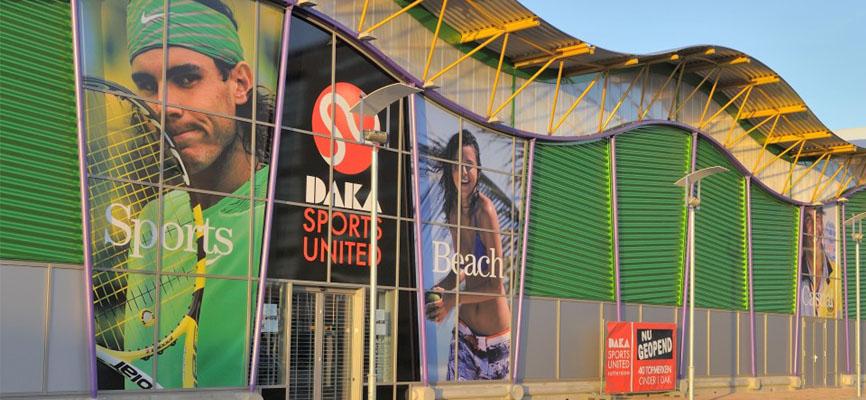 commercieel sport interieur bij daka sport retail design