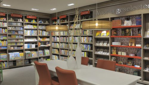 Interieur Boekhandel Koster, Barneveld