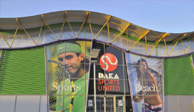 Ontwerp Interieur sport: Daka Sports, klant van WSB Interieurbouw