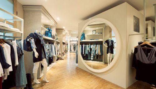 De Groene Lantaarn, Genemuiden: Winkelontwerp damesmode