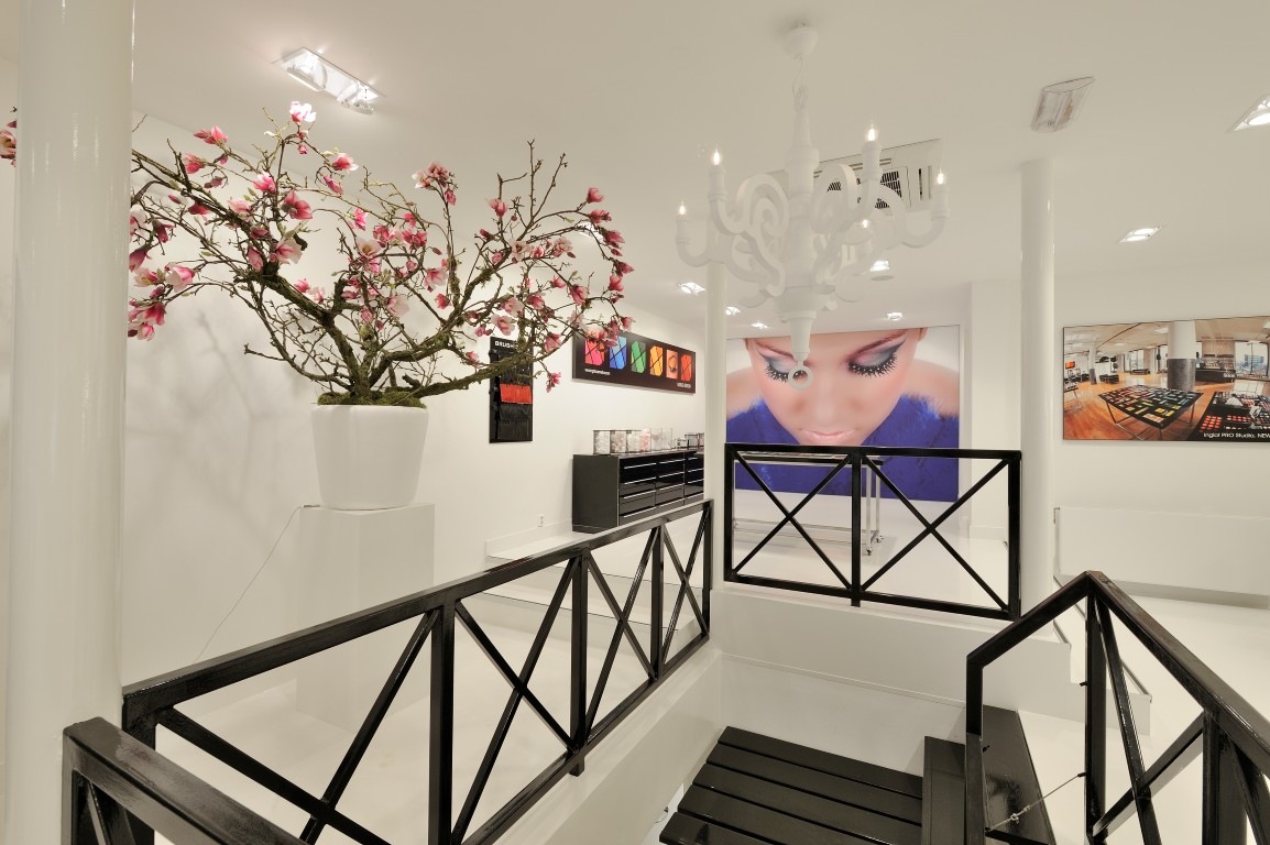 Interieur schoonheidssalon wsb ladenbau kosmetik successful dutch retail design - Interieur salon ...