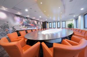 Kantoorinrichting vergaderruimte WSB Interieurbouw