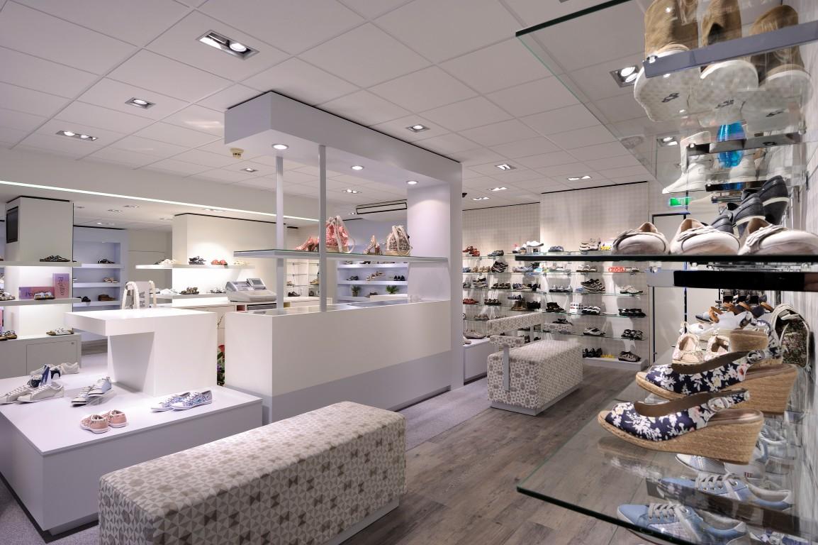 smit schoenen interieur schoenenwinkel design en realisatie door wsb