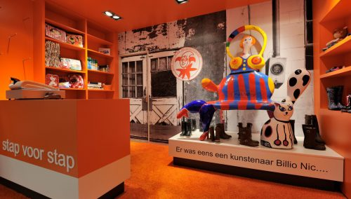 Stap voor Stap, Amersfoort: Winkelinrichting kinderschoenen