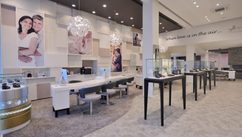 123Gold: Retail Design van interieur trouwringen in Rotterdam
