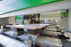 WSB Interieurbouw CNC machine