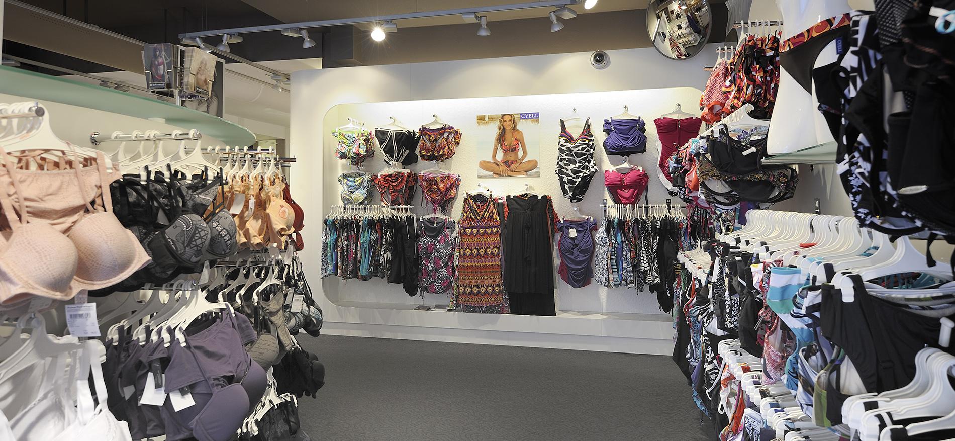 Inrichting lingerie  Melman Lingerie - Design en realisatie WSB ... 0743d9be322