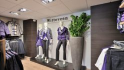 Shopfitting fashion label Witteveen Mode, NL