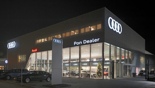 Inrichting showroom Audi by Pon, Amerfoort