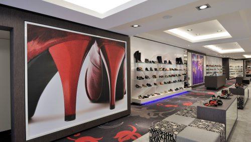 Dungelmann, NL: winkelontwerp schoenenzaak