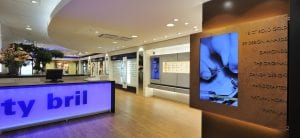 Design of Eyewear displays for City Lens in a stunning shopping environment