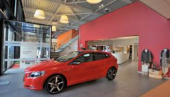 Concept design showroom Volvo Broekhuis Autogroup
