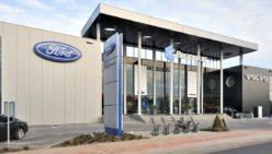 Einrichtung Schauraum – Ford NL