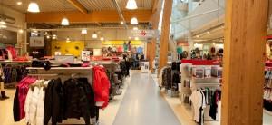 wsb Interieurbouw sport wsb Ladenbau shopconcepts sport intersport2