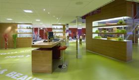Interieurontwerp en Inrichting Fitness en Sportcentrum Julien, Lienden