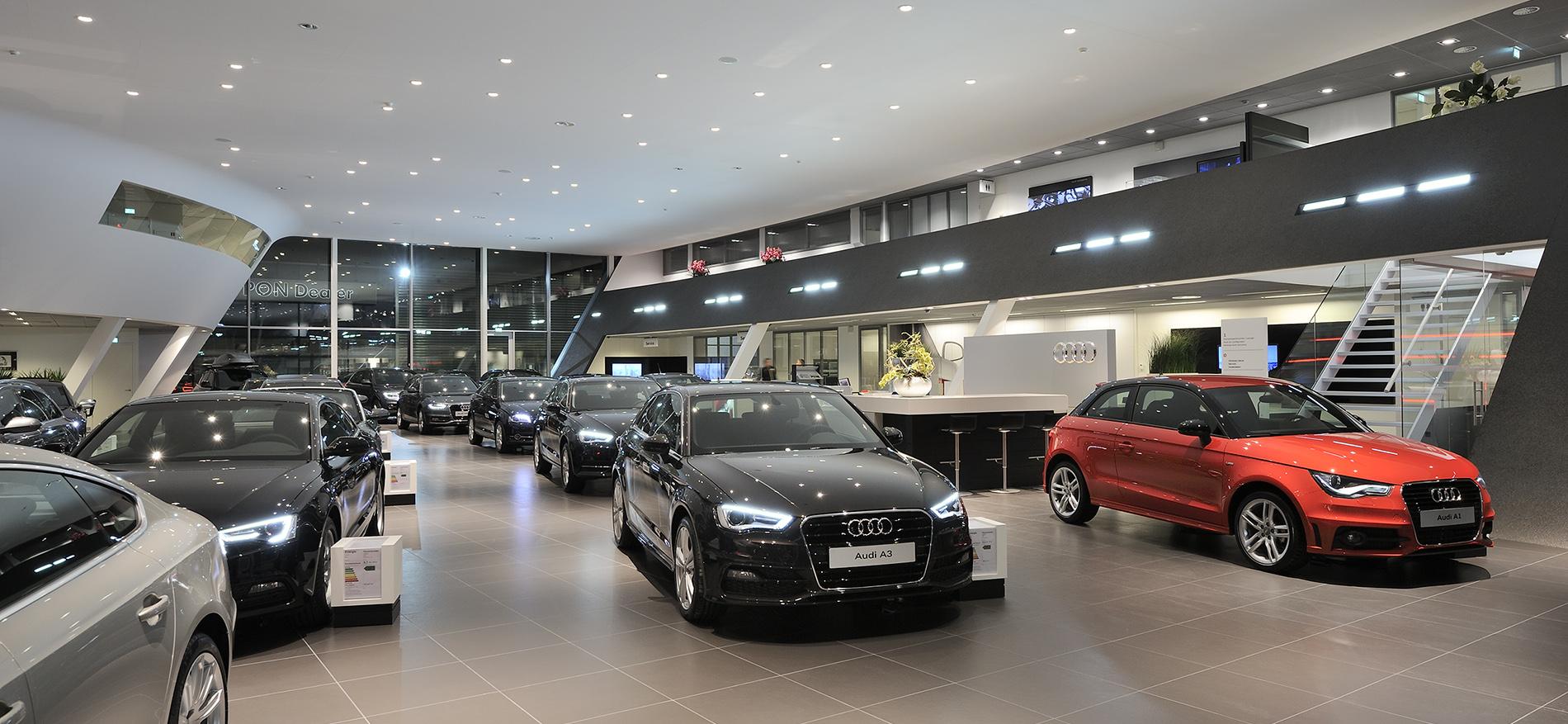 Audi Schauraum Einrichtungen Mit Erfolg