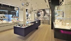 8 wsb interieurbouw juwelier wsb ladenbau schmuck uhren wsb shopconcepts jeweler heleven