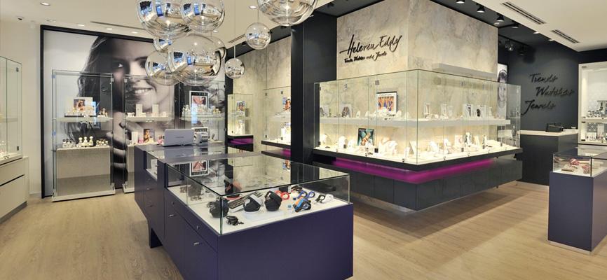9 wsb interieurbouw juwelier wsb ladenbau schmuck uhren wsb shopconcepts jeweler heleven