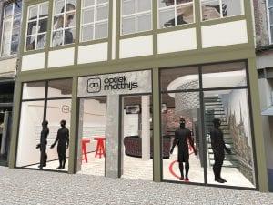 WSB Interieurbouw optiekzaak opticien Matthijs in Gent