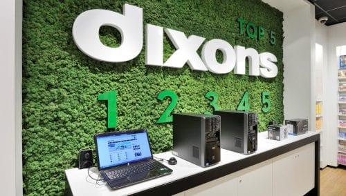 Retail design Dixons 3.0 Concept door WSB