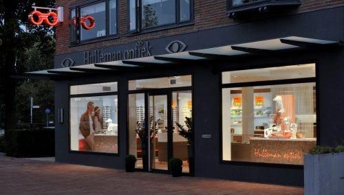 Interieurbouw Hulleman Optiek, Soestdijk