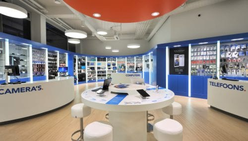 Coolblue: Interieur Offline Winkelconcept