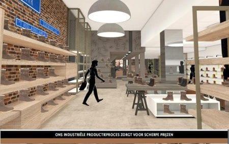 Winkelontwerp Interieur Bronkhorst Schoenen