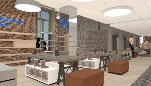 Persbericht Retail design Bronkhorst Schoenen door WSB Interieurbouw