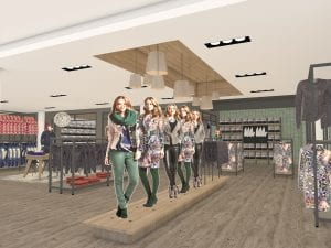 WSB Interieurbouw mode retail design fashion 1