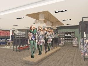 WSB Interieurbouw mode retail design fashion 1