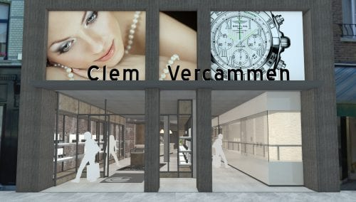 Coming soon: Verbouwing Juwelier Clem Vercammen in Heist op den Berg