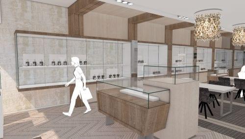 Retail design opgeleverd: Juwelier Robert den Haag