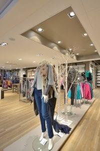 Interieur kledingwinkel Brinkers