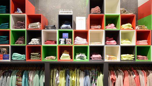 Outlet concept  Retour Jeans Denim de Luxe in Bataviastad