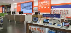 7 wsb interieurbouw wsb ladenbau  wsb shopconcepts Cyberport