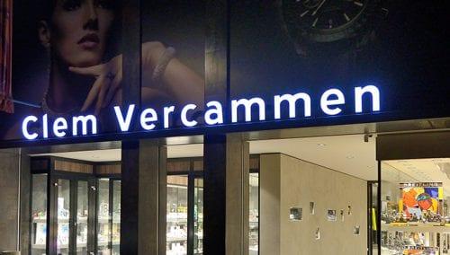 Juwelier Vercammen – Heist op den Berg (BE): Retail architectuur door WSB