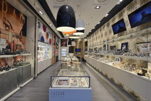 Conception de l?Intérieur de bijouterie Cadran in Bertrange.