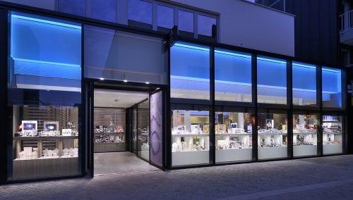 Winkelverlichting voor Juweliers | Gespecialiseerd ontwerp, berekening en installatie