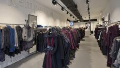 Turn key ontwerp en realisatie Cora Kemperman Mode in Brussel (BE)