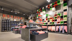 Opening concept store Retour Jeans in dutch outlet center Bataviastad