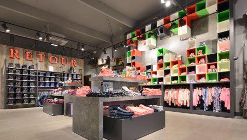 Opening outlet store Retour Jeans Denim de Luxe in Bataviastad