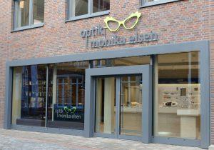 Ladeneinrichtung Optik Monika Elsen von WSB Ladenbau.