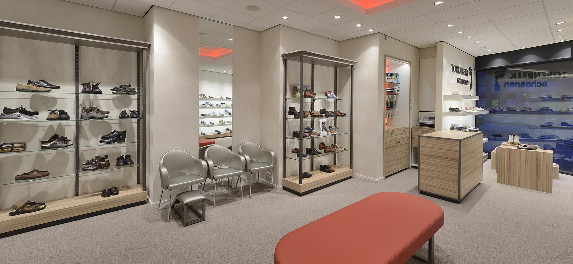 Persbericht renovatie winkelinterieur van torenbeek for Interieur winkels
