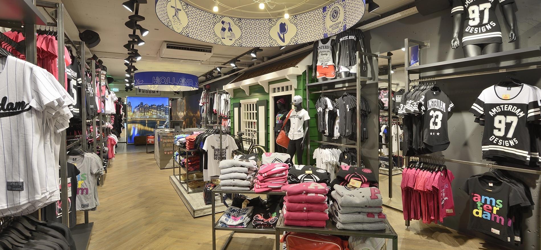 Persbericht winkelinrichting kledingwinkel beleving 3 0 for Interieur winkel amsterdam