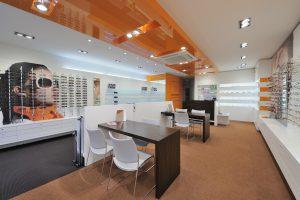 Winkelontwerp Interieur Kaasschieter Brillen en Hoortoestellen door WSB Retail Design